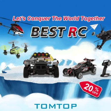 5% off RC Toys & Hobbies